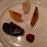 ラ・ブランシュ - フレッシュフォアグラと桃