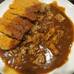 CoCo壱番屋 - 料理写真:2017年9月 THE牛カレー+ビーフカツ 1250円