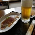 竹山高原ホテル - お風呂上がりの一杯♪