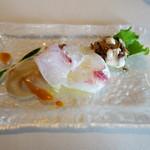 73647045 - 天然鮮魚のカルパッチョ