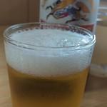 長野屋食堂 - 瓶ビール620円です。