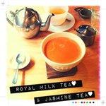 NUNU CAFE - ジャスミンティ&ロイヤルミルクティ♡