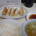 栄華楼 - 料理写真:餃子ライス