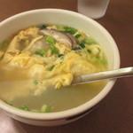 焼肉 山水 - 牛テールスープ