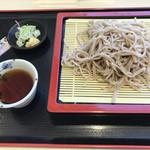 谷田部東パーキングエリア(上り線)スナックコーナー - 料理写真:常陸秋そば せいろ