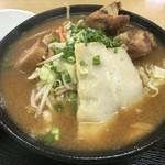 Miyarabi - 味噌そば 800円