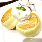 カフェ ドゥ パリ - オリジナルパンケーキ 800円