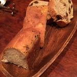 トラットリア・リョウゴク - パン2種類