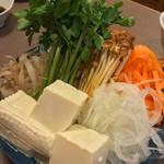 つるよし - 鍋の野菜
