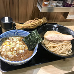 京都 麺屋たけ井 - つけ麺(小)220g わら納豆トッピング