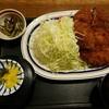 はぎ亭 - 料理写真:トンカツ定食350g特厚(税込み1800円)