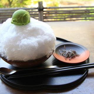 大蔵餅 - 料理写真:クリーム白玉ぜんざい