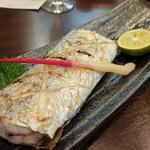 旬魚菜 しら川 - 太刀魚塩焼き 大好きな魚です