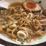 らー麺 たまや零式 - スープ割り