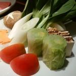今福 - お野菜の盛り合わせ