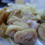基隆阿雲大腸圏 - 油の甘い大腸頭