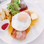 73665612 - ブランチパンケーキ1100円