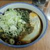 川一 - 料理写真:春菊天そば(430円)+生玉子(60円)