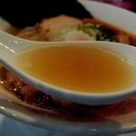 73666464 - 煮干しと豚骨のスープ(2017年9月)