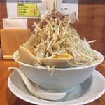73666958 - ラーメン野菜チョイマシ 味玉トッピング