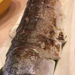 磯丸すし - 〆鯖の炙り