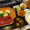 飛騨米屋 - 料理写真:飛騨牛陶板焼肉定食(2,200円)