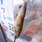 浜焼きセンター金八 - 料理写真:2017年8月 あゆ【500円】