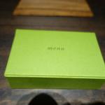 アコルドゥ - メニューシートの箱