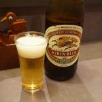 初音鮨 - 瓶ビール♪