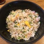 拉麺エルボー - ミニ焼きめし