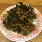 拉麺エルボー - 辛子高菜