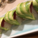 酒彩 ぎま - アボカド棒寿司UP