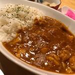 みみずく25 - 自家製カレー(レッドカレー)