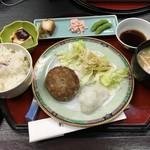 竹之里 - (料理)おろしハンバーグ定食
