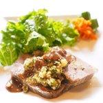 73674285 - ランチコース 1900円 の牛タンと豚ホホ肉のゼリーよせ