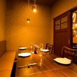 ラ・ファットリア - 人気のプライベート空間、完全個室は2名様~8名様までご利用頂けます。