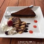 山辺スイーツカフェ - ランチデザート:チョコケーキ