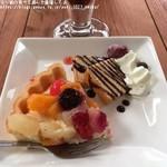 山辺スイーツカフェ - ランチデザート:フルーツタルト