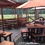 山辺スイーツカフェ - 広々テラス席
