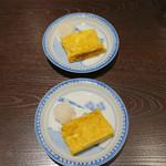 三合菴 - 出汁巻き玉子