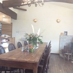 和sian-cafe aimaki - ランチタイム、陽射しが入る店内は最高。