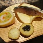 南部屋・海扇閣 - 料理写真:晩夏彩々 左側