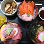 勘太そば - ミニ満腹セット850円