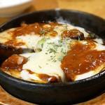 73677849 - アスパラと茄子のチーズ焼きは、ほぼ茄子