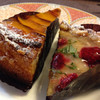 ラ・フルネ - 料理写真:りんごのタルト+桃のタルト