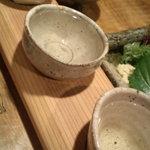 一饗 - 日本酒~三種セット~