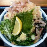 瀬戸内製麺710 - とり玉天ぶっかけ(H23.4)
