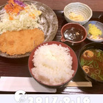 蒲郡競艇1F西売店 - 料理写真:味噌カツ@900