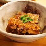鮨 慎之介 - 付き出し(煮こごり)