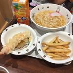 天丼てんや シャポー本八幡店 - お子様うどんセット(^∇^)